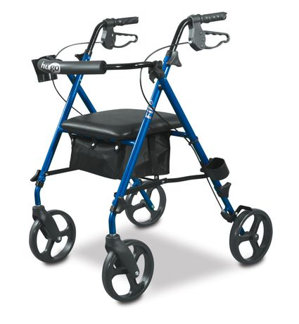 Hugo Fit 6 Rollator- Pacific Blue [700-913] - Think Mobility