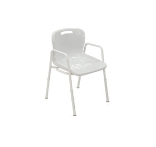 Shower Chair Kcare Aluminium With Arms [Ka220Aa] - Think Mobility