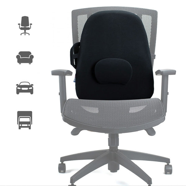 Obusforme Lowback Backrest Support Grey [Lbg] - Think Mobility