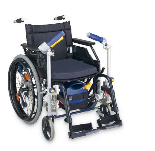 Max 2 Pushing & Braking Add On Kit For Wheelchair [311000] - Think Mobility