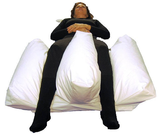 Cushion Snooooooze W Leg Trough C/w Top Leg Wrap Medium [Pta534232] - Think Mobility