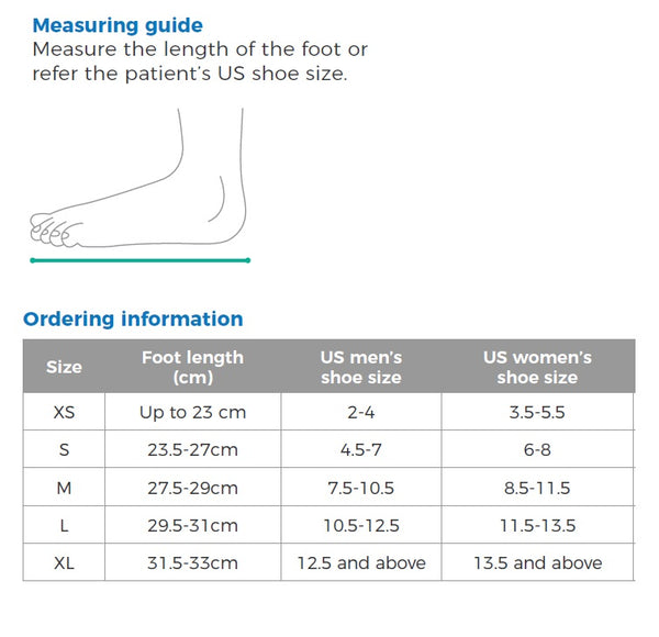 Cast Boot Orthostep Tall - Medium [Obstt1-3] - Think Mobility