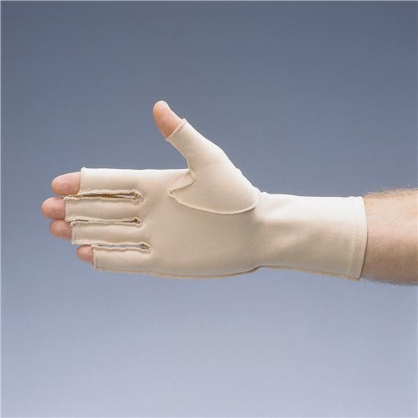 Rolyan Oedema Glove - Open Finger - Left - Medium [Pat-A571205]