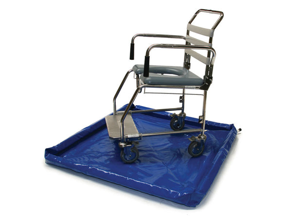 Shower Tray Portable W/bag 1100Mmx1100Mm [28545] [Showertray] - Think Mobility