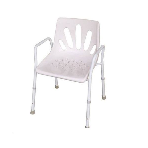 Premium Shower Chair Aluminium 48Cm R&r [12028A48] - Think Mobility