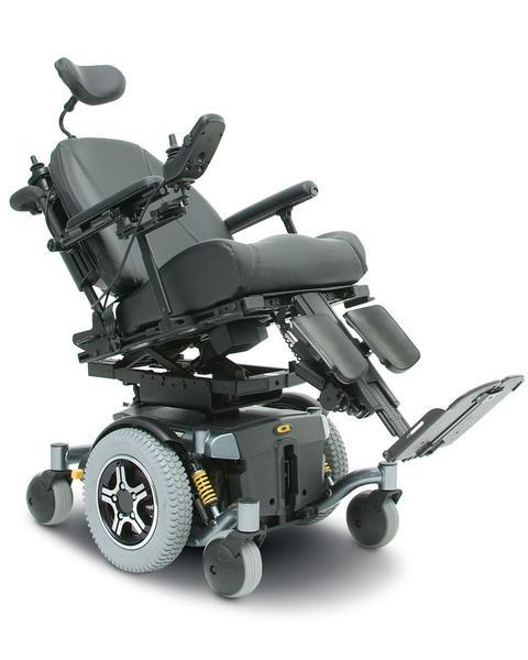 Pride Quantum Q6 Edge Hd Power Drive Wheelchair Swl 204Kg [Q6Edgehdqlsyn]