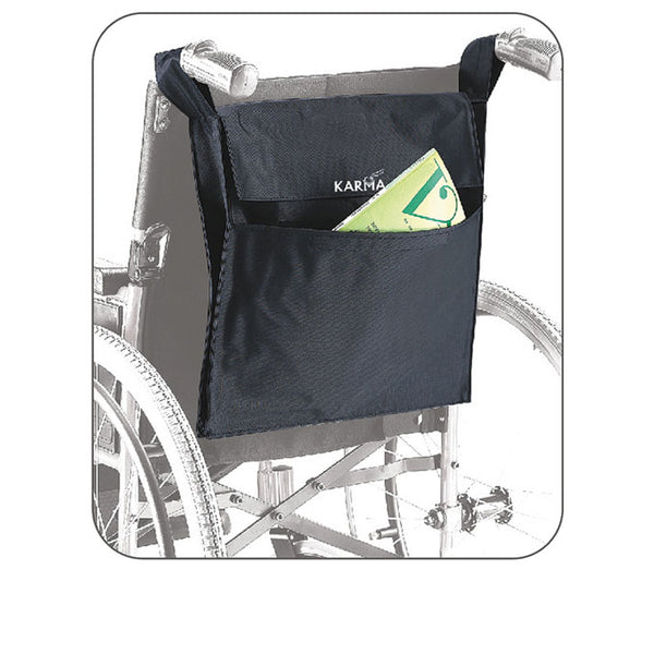 Rear Carry Bag To Suit Karma Wheelchairs [Wckmbag] - Think Mobility
