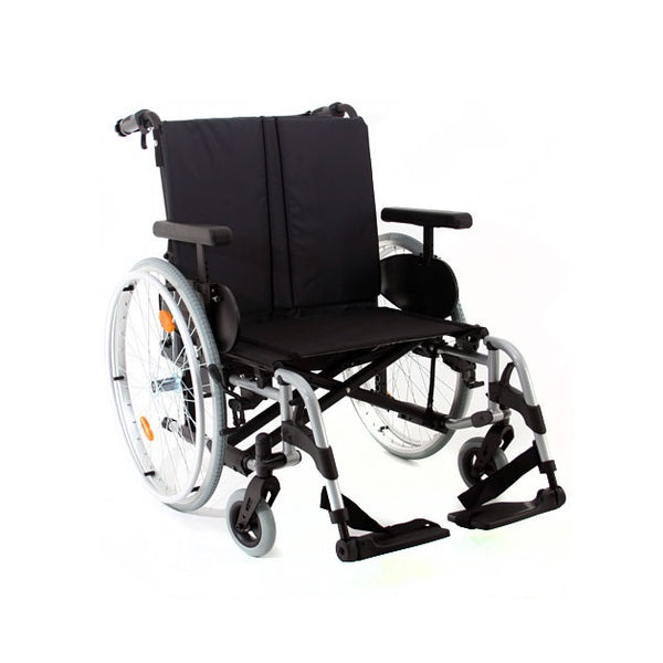 Wheelchair Rubix 2 Hd Self Propelled 24X18/19 Blue [074000-001-60] - Think Mobility