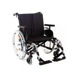 Wheelchair Rubix 2 Xl Hd Self Propelled 22 X18/19 Blue [074000-001-56] - Think Mobility