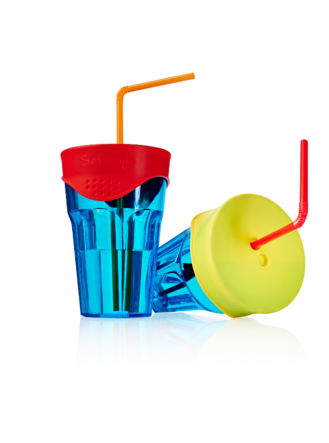 Safe Sip Cup Lids [Assorted Colours] - Think Mobility
