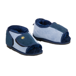 Sheepskin Shear Comfort Pressure Care Boot Open Toe Rubber Sole Small [002305] - Think Mobility
