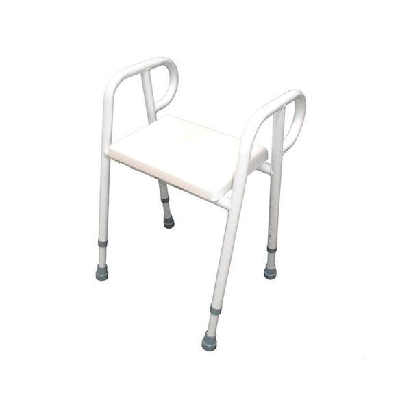 Shower Stool R & R Padded Aluminium 60Cm [12325A60] - Think Mobility