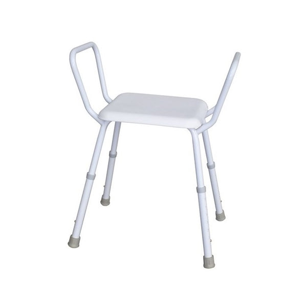 Shower Stool R & R Steel Padded [12325S] - Think Mobility