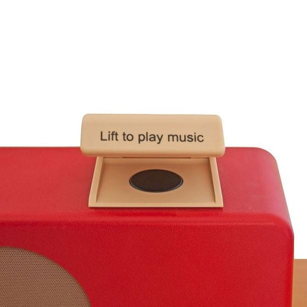 Simple Music Player Retro Red [Bl0102] - Think Mobility