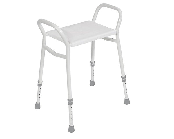 Shower Stool Aluminium Aidapt Strood [Vb635Al] - Think Mobility