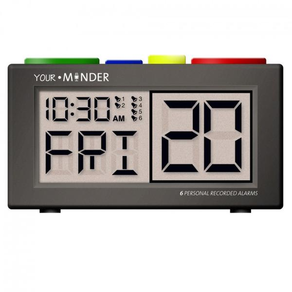 Clock Your Minder Talking Digital Alarm  (Ttc-Mcrec) - Think Mobility