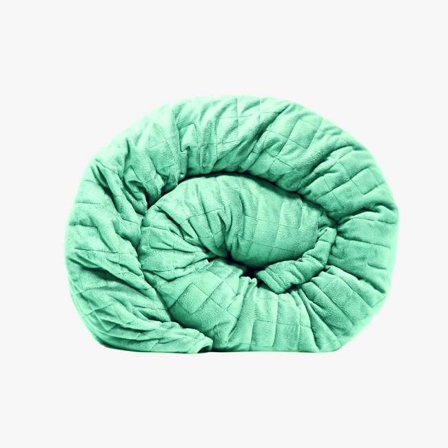 Therapy Premium Weighted Blanket (Child) Micro Plush Cover/ Tranquil Teal - 3.2Kg [Chd-Blkt-Tl-3.2] - Think Mobility