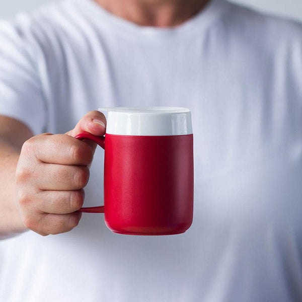 Thermo Mug 320Ml Red Ornamin [11797] - Think Mobility