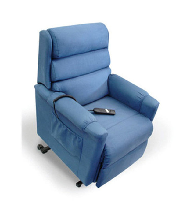 Ashley Mini  Recliner -  Manual Studio Vinyl Fabric [Ashley - Mini Rmsv] - Think Mobility