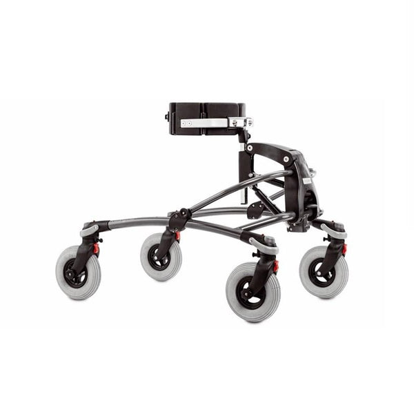 "Walker R82 Mustang Without Chest Support 4"" Wheels - Red [869025-3] - Think Mobility"