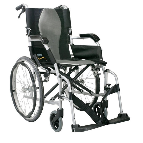 Wheelchair Karma Ergo Lite Deluxe Self Propelled 16X16 [Wckm2512F20-16] - Think Mobility
