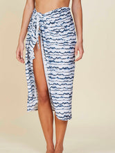 Load image into Gallery viewer, Agra Printed midi Sarong. Can be tied at the waist.