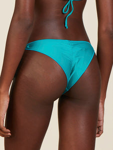 Solid-Color Ruffled Bottom