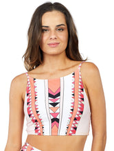 Load image into Gallery viewer, Los Roques Cropped Halter Top