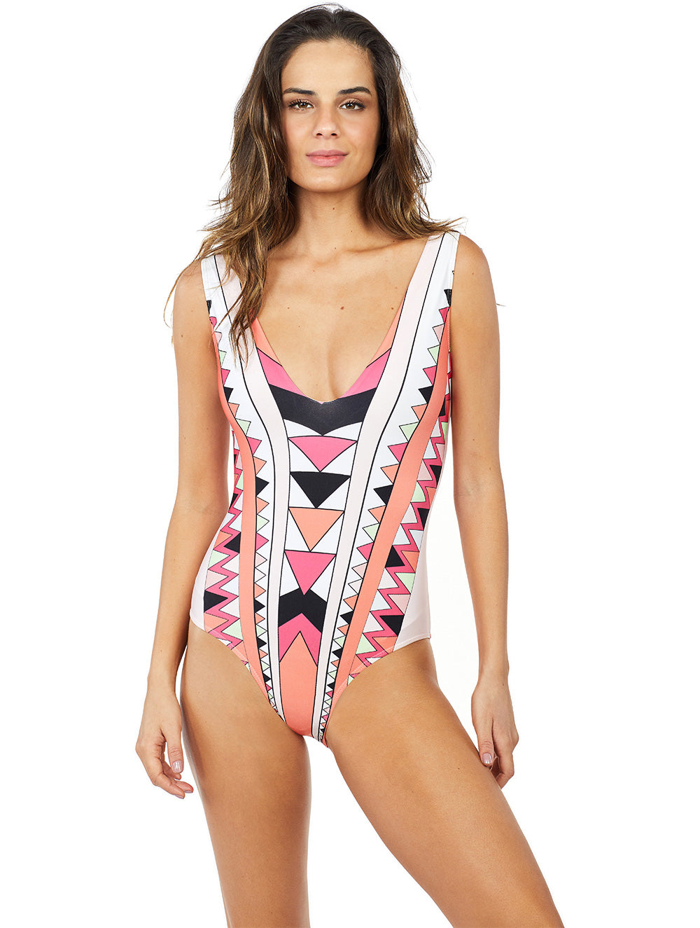 Los Roques V-neck One-Piece