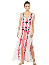 Load image into Gallery viewer, Los Roques Long Halter Top Dress