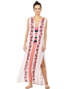 Los Roques Long Halter Top Dress