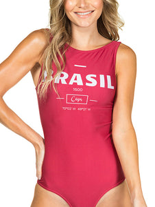 Brazil Halter Neck Body