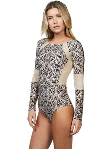 Safari Long-sleeved One Piece