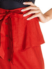 Load image into Gallery viewer, Carmim Linen Long Skirt