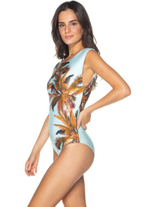 Tulum Halter Top One-Piece