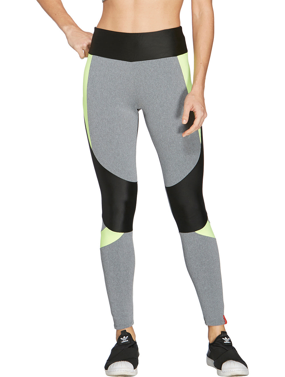 Mescla Neon Multi-colored Legging