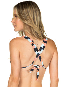 Rio Sliding Triangle Top with crossover straps