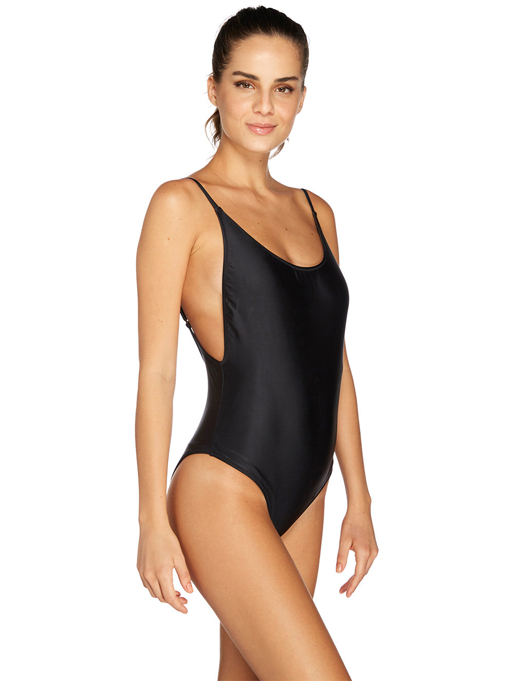 One-piece with Thin Straps
