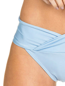 Solid-color Bandeau bottom