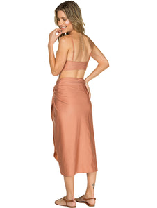 Solid-color Long Sarong