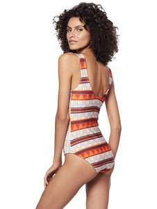 gana double sided halter top one piece