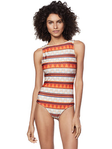Gana Double-Sided Halter-Top One Piece