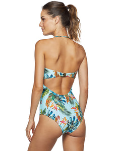 Curaçao Strapless One-piece