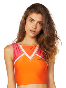 Riviera Cropped Halter Top