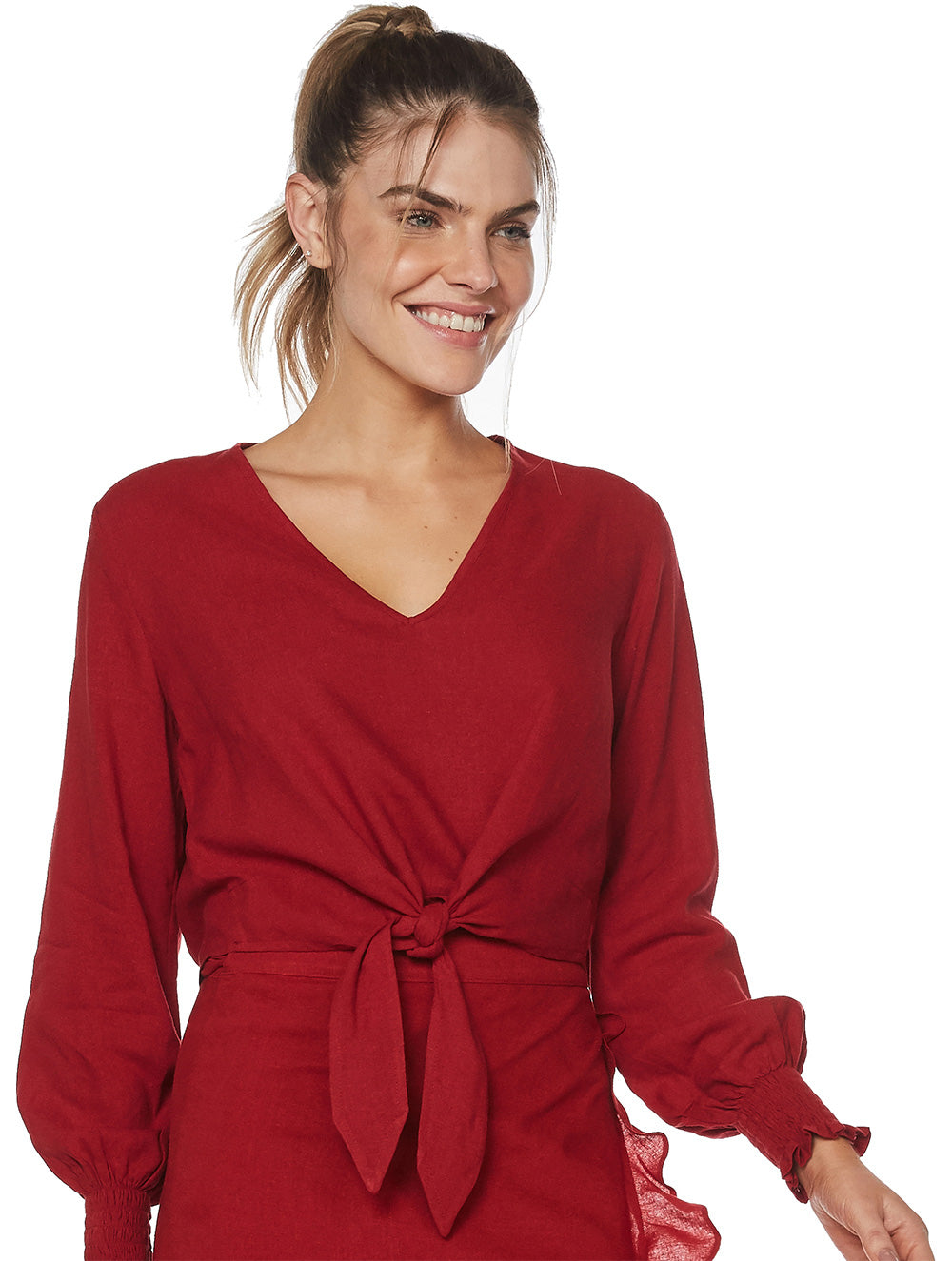 Rubi Long-sleeved Blouse