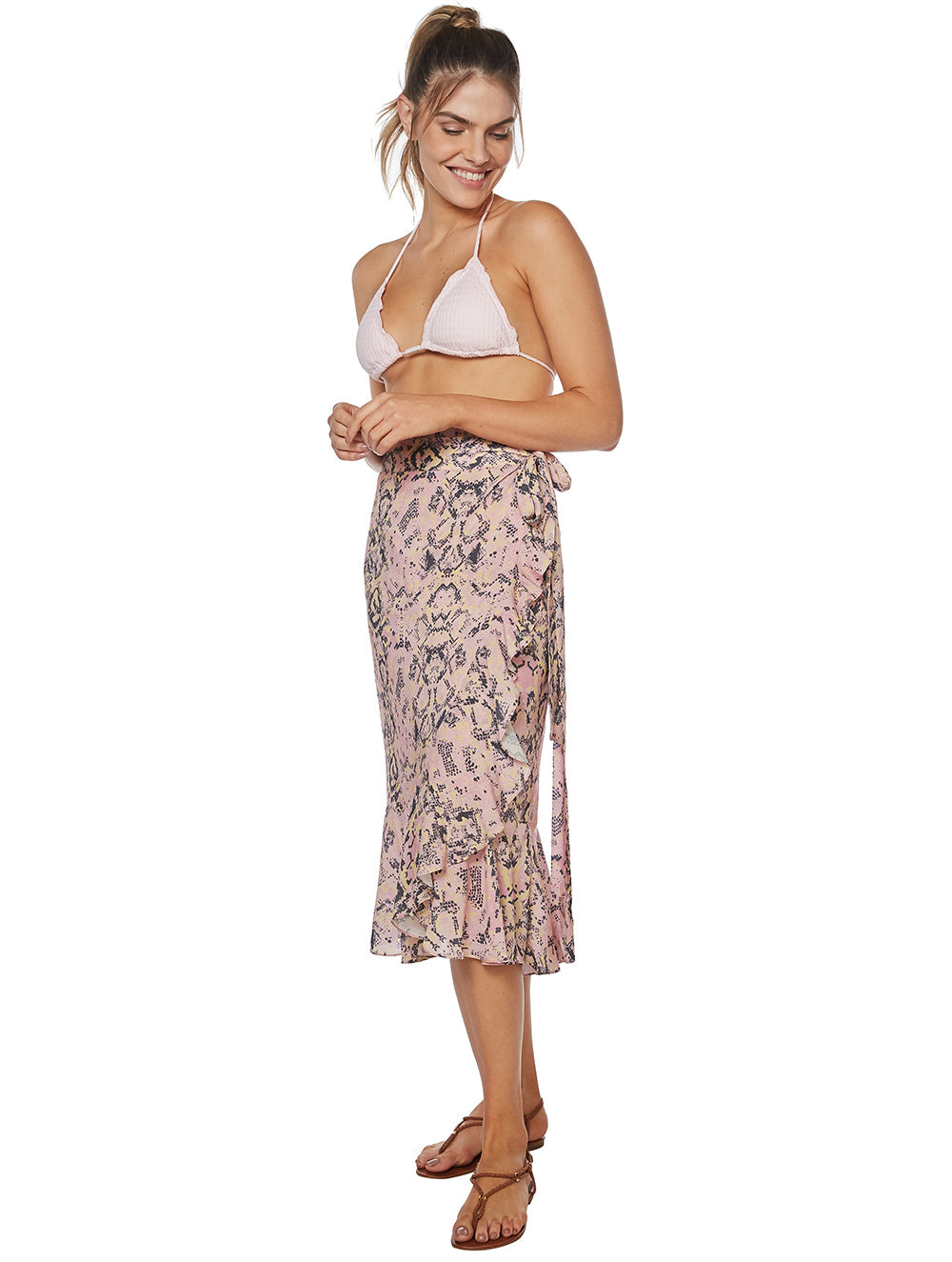 Jade Wrapover Skirt