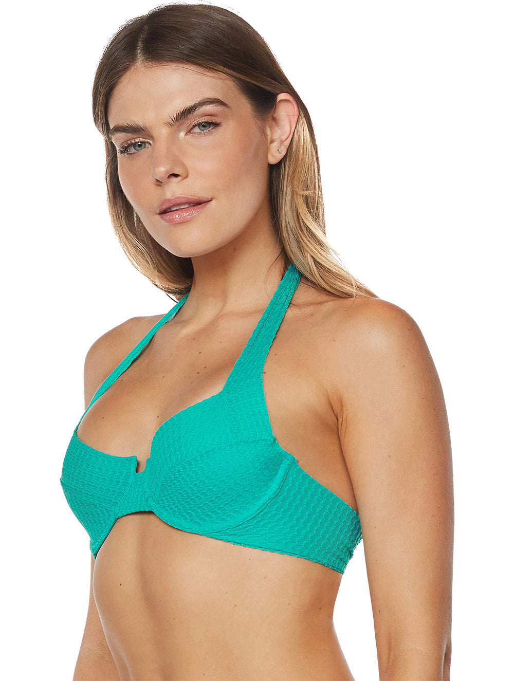 Embu Demi-Cup Top with Wide Straps