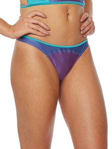 Tricolor Medium-Waist Bottom
