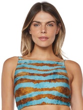 Load image into Gallery viewer, Turmalina Cropped Halter Top