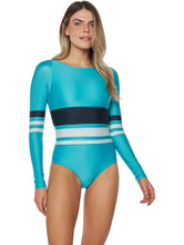 Load image into Gallery viewer, Solid-color Cutout Long-sleeved One-piece